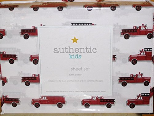 authentic kids (ALL COTTON) 3-pc FIRE ENGINE / FIRE TRUCK...