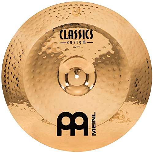 "Meinl 18"" China Cymbal - Classics Custom Brilliant - Made In Germany, 2-YEAR WARRANTY (CC18CH-B)"