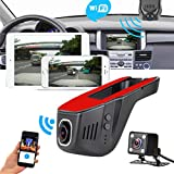Review of OVERMAL Dual Lens Wifi HD 1080P Car DVR Video Camera