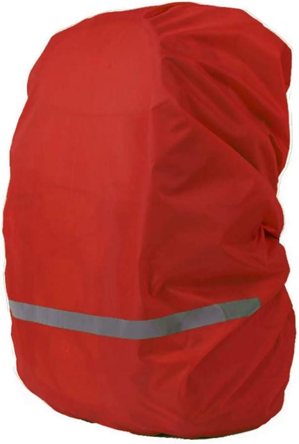 45L-55L CHUER Fundas Impermeable para Mochila,Cubierta Impermeable de la Lluvia de la Mochila con la Tira reflectora para Alpinismo Monta/ña Escalada Camping Viaje Deporte Marcha Ciclismo