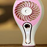 Atomized fan, 2 in 1 small hand-held USB atomization fan, personal cooling, portable home office and travel atomization humidifier