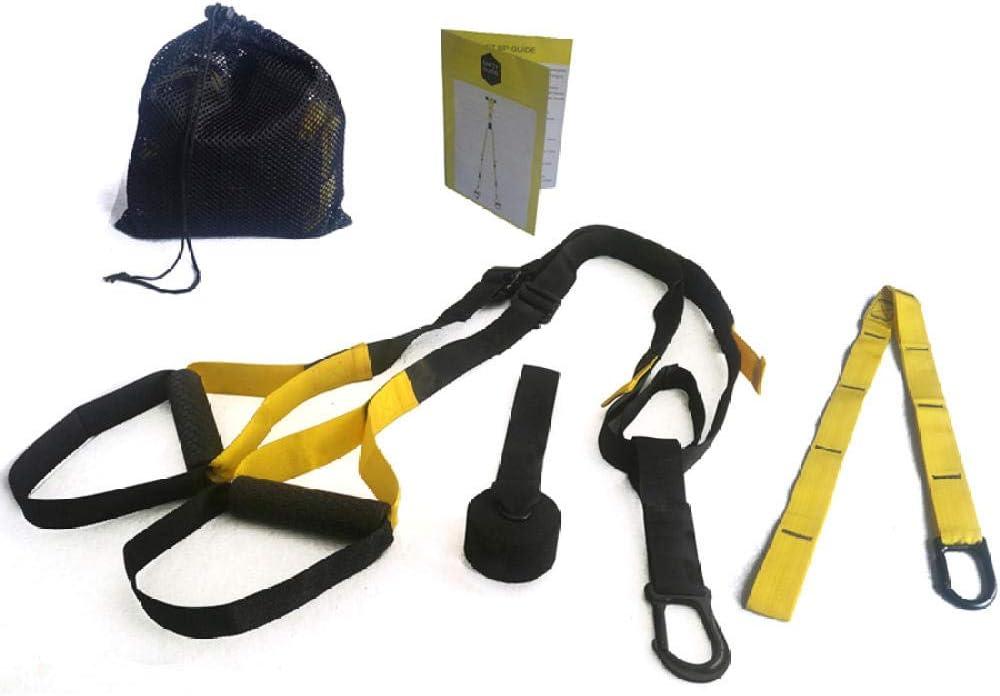 SZYM Bandas elásticas para Fitness Entrenador de suspensión Bandas de Resistencia Fitness Cinturón Colgante Entrenamiento Gimnasio Entrenamiento ...
