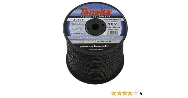 Tanaka 746574 .105-Inch 550-Feet Trimmer Line Spool Black