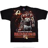 Legend Sports Direct Washington Redskins Men's Tunnel Black T-Shirt