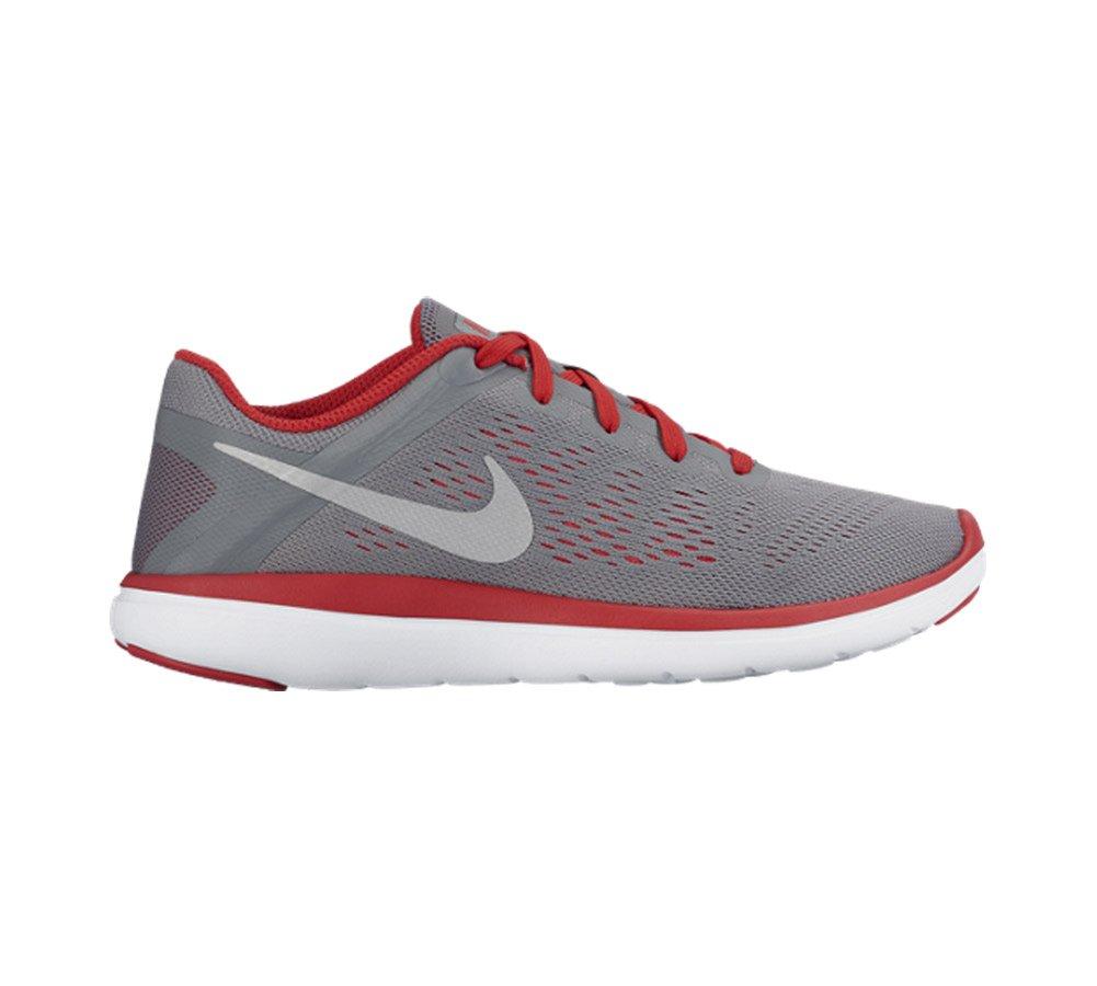 Nike Flex 2016 RN (GS), Zapatillas de Running para Hombre 38 EU|Gris (Gris (Cool Grey/Metallic Silver-university Red))