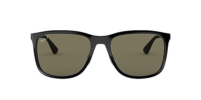 Ray-Ban 0RB4313 Gafas de sol, Black, 57 para Hombre: Amazon.es ...