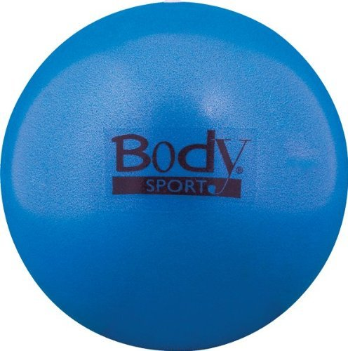 BodySport FusionBall 7.5 - 10'' Mini Fitness Ball - Use for pilates. Inflates with included straw. Ideal for isometrics, Core work. No pump necessary! by Body Sport