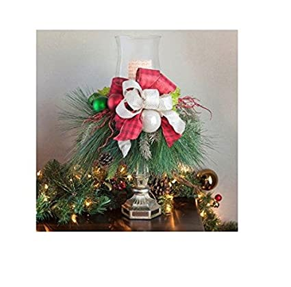 Amazon Christmas Holiday Candlestick Centerpiece With Led