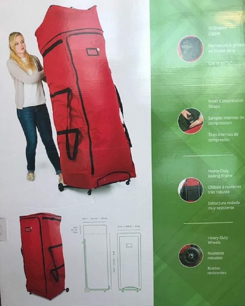 Santas Bags Tree Storage Expandable Duffel Bag for Trees 7.5-12