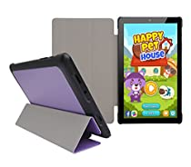 "Insignia Flex 8"" NS-P08A7100 Tablet Slim Shell Case - iShoppingdeals Ultra Slim Lightweight Tri Fold Standing Cover for Insignia Flex 8"" NS-P08A7100 Tablet 2016 Release (Viola Purple)"