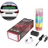 UNHO Auto Sound Music Beat Activated Car Stickers Equalizer Glow LED Flash Light Audio Voice Rhythm Lamp 90cm X 25cm / 3FT X 5/6FT (Multicolor)