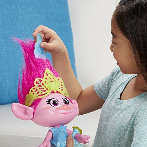 Hasbro-DreamWorks-Trolls-Hug-Time-Poppy-figuras-de-juguete-para-nios-Multicolor-Chica