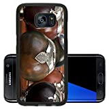 Luxlady Premium Samsung Galaxy S7 Edge Aluminum Backplate Bumper Snap Case Close up of calabash cups for mate Mate is a traditional drink very similar to tea in Argentina Uruguay Paraguay and some parts o