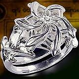 Tanakorn LOTR of The Ring Galadriel Nenya Zircon 5A