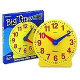 Learning Resources LER2094 Big Time 12-Hour Demonstration Clock