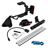 Fotodiox Pro Cinema Sharkcage for Samsung NX1 Camera - Skeleton Housing, Protective Video Cage - Pitch Black