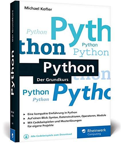 Python: Der Grundkurs