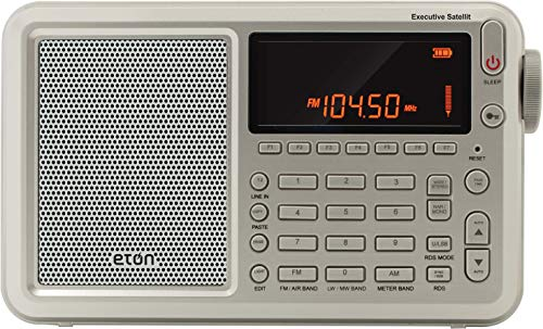 Eton Executive Satellite Radio with RDS (Best Cheap Shortwave Radio)