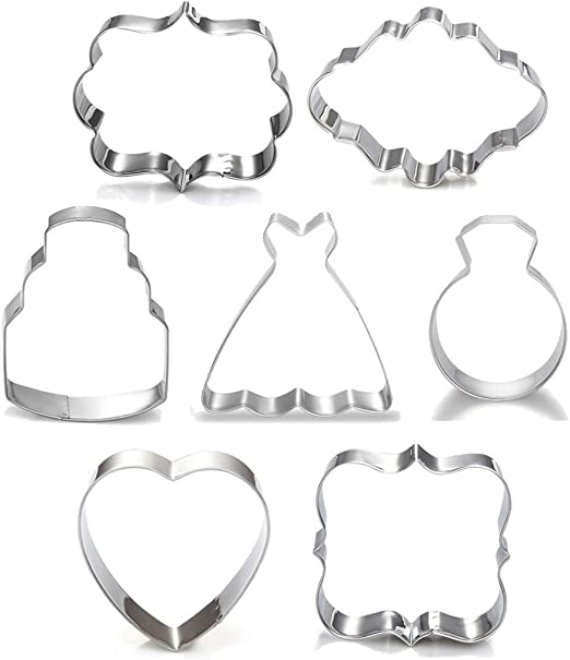 7 inch Oval Cookie Cutter Oval Cookie Cutter