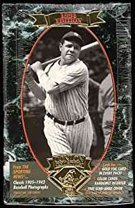 The Sporting News Conlon Collection Baseball Cards : 1994 Edition Unopened Box of 36 Packs Babe Ruth cover photo