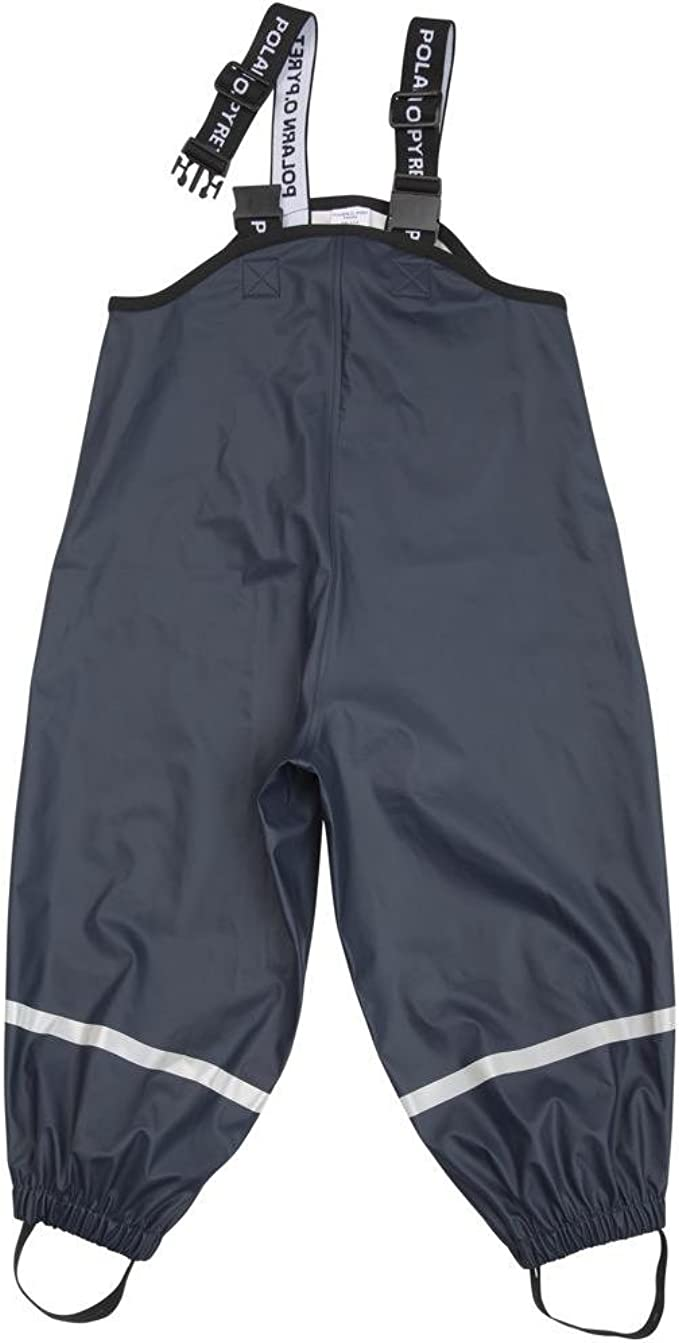 2-6YRS Pyret Waterproof Suspender RAIN Pants Polarn O