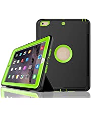 iPad 7th Generation Case 10.2 inch 2019 Model/iPad 10.2 Case/(Model No: A2197,A2200,A2198),with Free Screen Protector,Three Layer Heavy Duty Shockproof Protective Stand Case