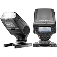 Neewer NW320 TTL LCD Display LED-Assistive Preview Focus Flash Speedlite for Panasonic Lumix DMC GF7 GM5 GH4 GM1 GX7 G6 GF6 GH3 G5 GF5 GX1 GF3 G3, Olympus OM-D E-M5 II E-M10 E-M1 PEN E-PL7 E-P5