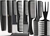 Annie Professional Comb Set 10Ct Black