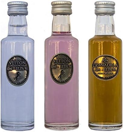 CEREX – Pack Degustación 3 botellas de Ron Añejo Granadilla ...
