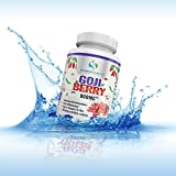 Supreme Potential's Goji Berry 900mg, 90 Capsules, Antioxidant Rich, High in Vitamin C and Fiber, GMO Free, Best Quality, Manufactured in the USA