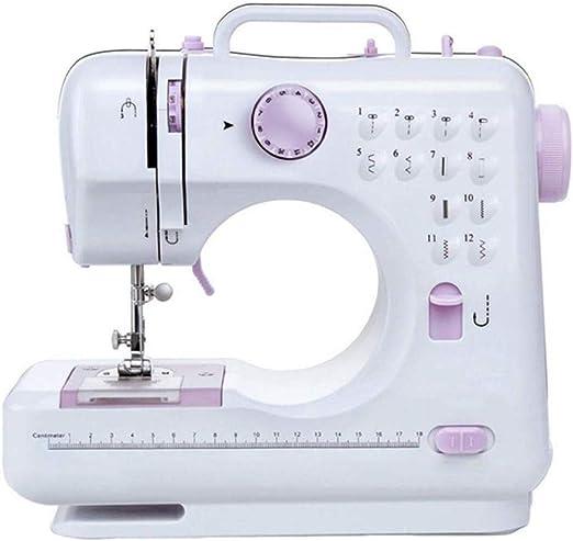 Máquina de coser portable, pequeña máquina de coser máquina de coser portátil palanca de mando eléctrico