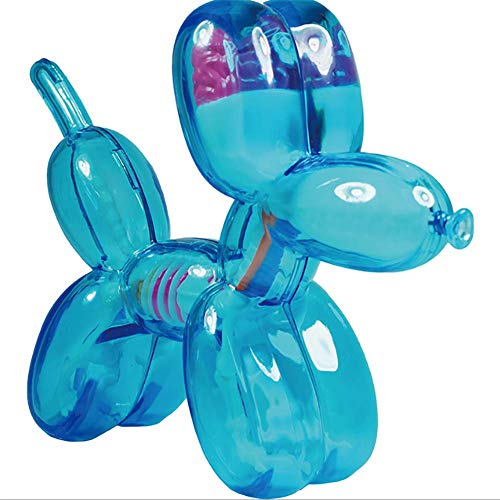 OPNG 4D Mini Blue Balloon Dog Master Puzzle Assembling Toy Perspective Bone Anatomy Model 10PCS