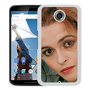 Beautiful Designed Cover Case With Bonham Girl Face Look Eyes (2) For Google Nexus 6 Phone Case