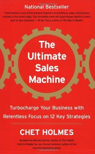 byChet HolmesThe Ultimate Sales Machine Turbocharge Paperback pdf epub