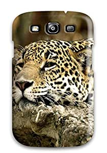High Impact Dirt/shock Proof Case Cover For Galaxy S3 (cheetah Animals Latests)
