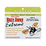 New - Quantum Research Buzz Away Towelettes - 12 Pack