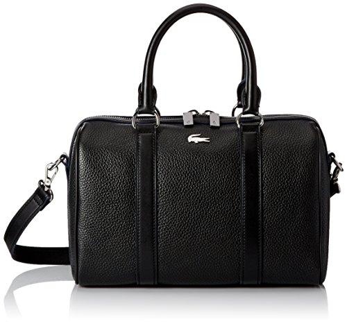 Lacoste Renee Medium Boston Bag, Black