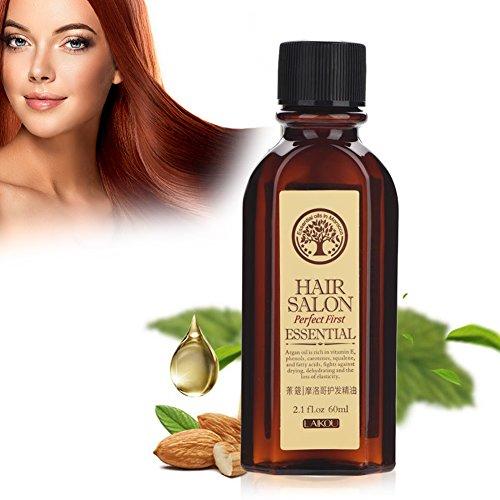 Yotown Mónaco Nut Aceite nutritivo para el Cuidado del Cabello, Hair Growth Oil Aceite de Argán Reparación del Cabello...