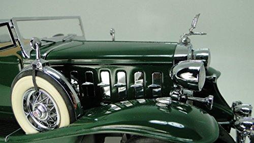 High End Vintage Sportscar 1930s Cadillac Eldorado 1 Antique Classic Concept Collector Sport Car Built Diecast Model Art Carousel Green Collectible 1959 25 1968 18 1967 12 1957 24