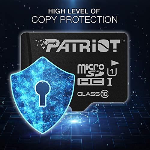Patriot LX Series Micro SD Flash Memory Card 16GB - 5 Pack