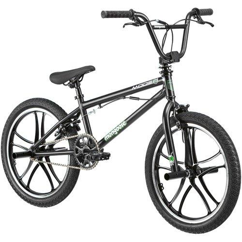 "20"" Mongoose Mode 270 Boys' Freestyle Bike, Black"