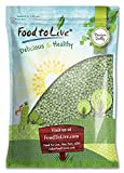 Green Whole Peas (Great for Green Curry, Kosher, Raw, Dried) by Food to Live — 5 Pounds