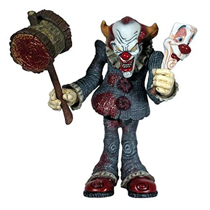 Amazon.com: Dark Carnaval Serie 1 Cadaver Payaso Figura de ...