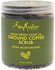 Shea Moisture Olive Oil Coffee Scrub by Shea Moisture for Unisex - 12 oz Scrub, 340 g