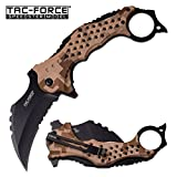 "New SPRING-ASSIST FOLDING ProTactical Limited Edition Elite Knife Tac-Force 3"" Black Serrated Blade"