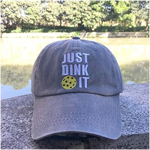 NVJUI JUFOPL Men's & Women's Embroidered Vintage Dad Hat Washed Funny Baseball Cap |