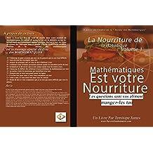La nourriture de Simples Statistiques 1: Mathematiques est votre Nourriture (French Edition)