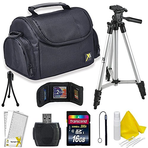 (Professional Accessory Kit for All Canon, Nikon, Sony, Panasonic, Olympus Cameras, Kit Includes 9 Compact Accessories)