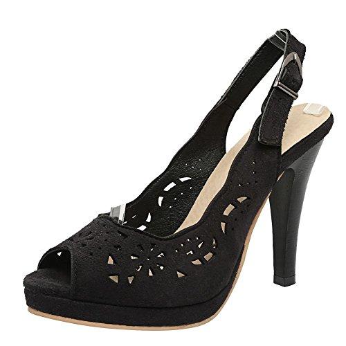 Mee Shoes date Schuhe Straßenschuhe Sommerschuhe casual Alltagsschuhe Schwarz