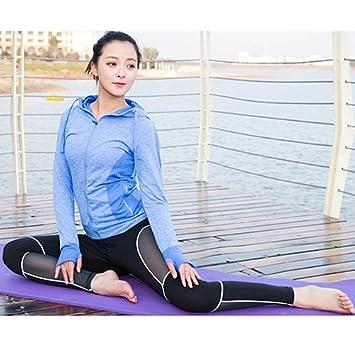 JIANSHENYK 2pedazo Mujer Sport Yoga configurar para Correr ...